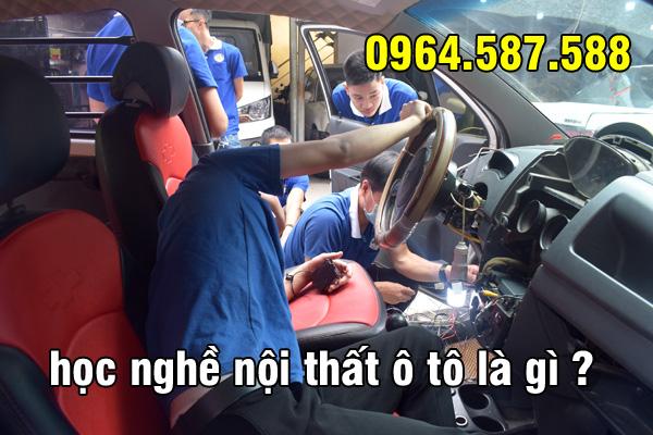 nghề nội thất ô tô là gì