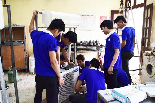 học nghề điện lạnh ở thanh hóa