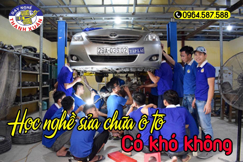 Học nghề sửa chữa ô tô có khó không