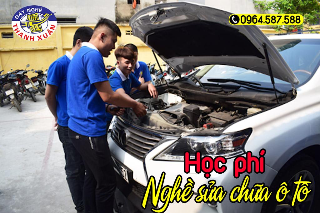 Học phí nghề sửa chữa ô tô