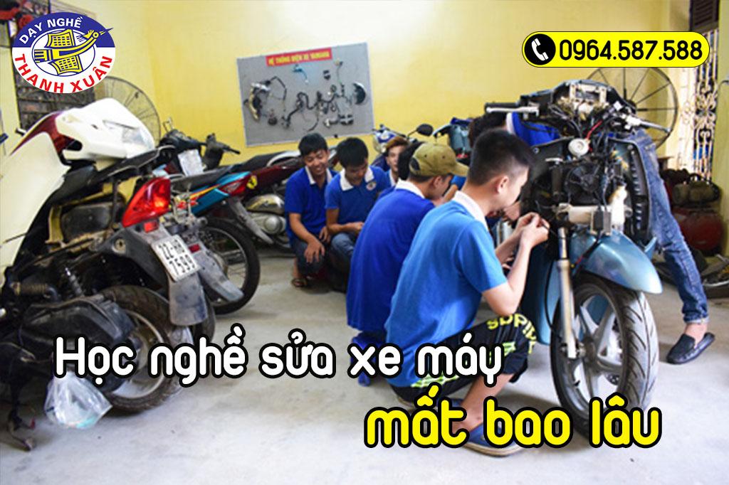 Học nghề sửa xe máy mất bao lâu