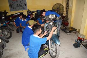 Học nghề sửa chữa xe máy ở đâu