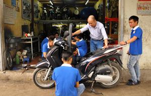 Học nghề sửa chữa xe máy tại Hà Nội và địa chỉ học nghề xe máy uy tín