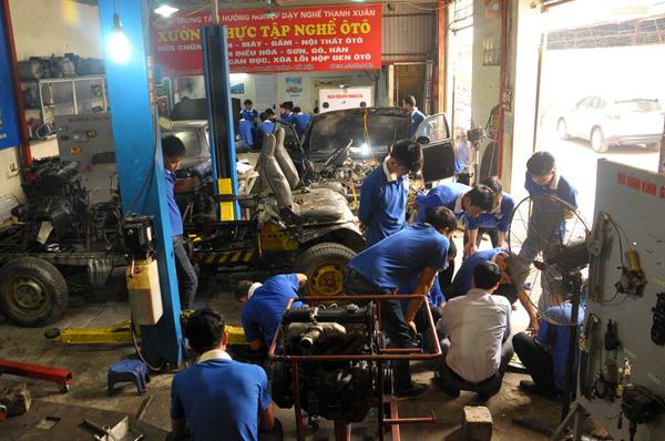 thực hành sửa ô tô