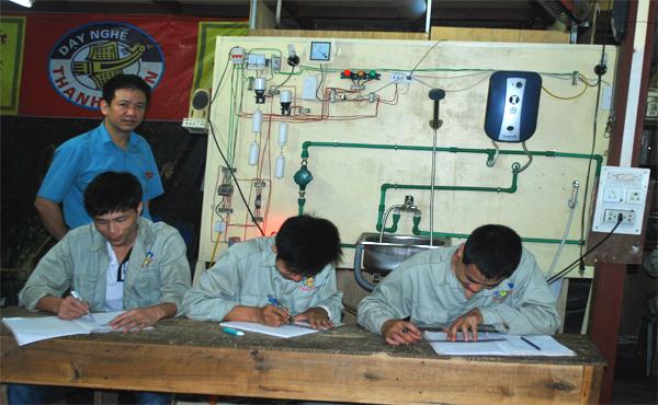 dạy nghề điện nước tại hà nội