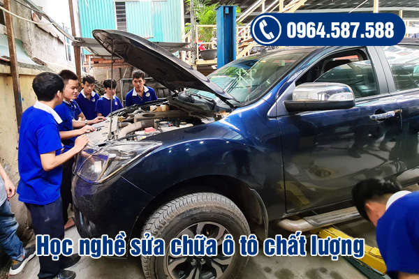 học nghề sửa chữa ô tô chất lượng