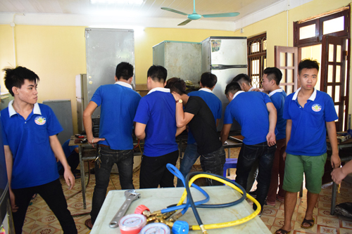 dạy nghề điện lạnh thanh xuân