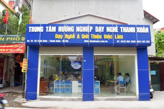 Trung tâm hướng nghiệp dạy nghề Thanh Xuân 83 Triều Khúc