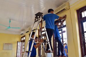 Học nghề điện lạnh buổi tối tại Dạy nghề Thanh Xuân