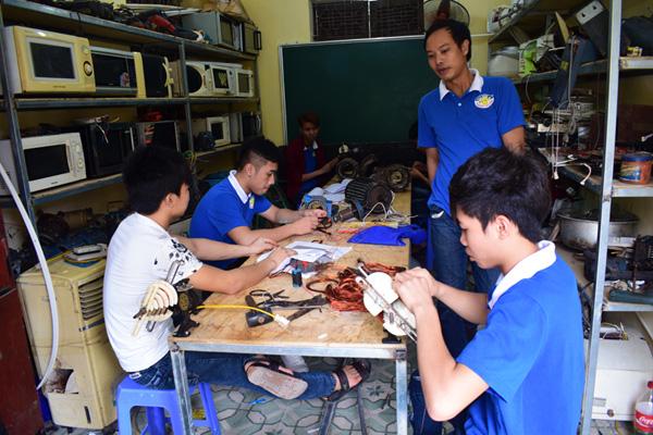 nghề điện dân dụng tại dạy nghề thanh xuân