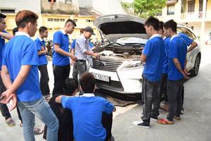 Top 5 trường học nghề sửa chữa ô tô uy tín chất lượng nhất cả nước