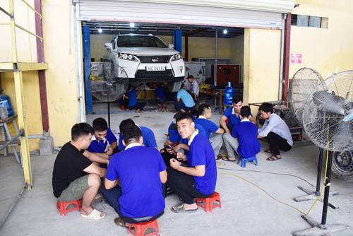 học nghề sửa chữa ô tô tốt nhất hà nội